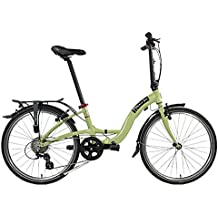 Dahon Faltrad Briza D8 8 Gang Grün 24 Zoll Uni Alu Klapp Fahrrad Faltrahmen Leerlauf Kettenschaltung