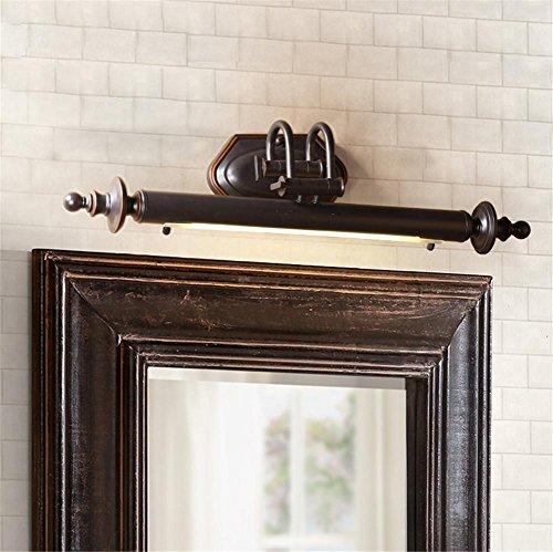 Atmko®Spiegellampe Spiegelleuchte Badezimmer-Spiegel-vorderes helles Retro justierbares Winkel-24W LED-Wand-Lichter-Bild-Anzeigen-Verfassungs-Bad-Spiegel-Lampen-Eisen-Backen-Farbe + Glas-Wand-Lampe für Badezimmer-Schlafzimmer-Aufbereiter-Wand-Malerei usw. (Spiegel-glas-wand-lampe)