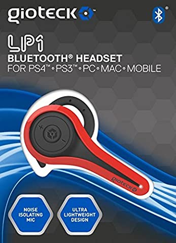 LP1 Mono Headset in Rot [PS4 PS3 PC]