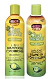 African Pride Olive Miracle Anti-Breakage DUO BUNDLE | 2 in 1 Shampoo