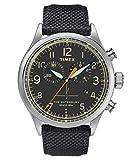 Timex Reloj Cronógrafo para Hombre de Cuarzo con Correa en Cuero TW2R38200