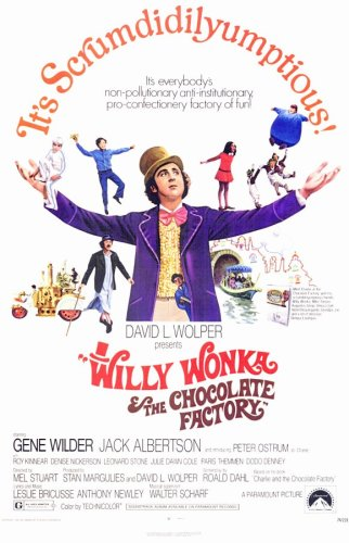 Pop Culture Graphics Willy Wonka and The Chocolate Factory (1971) - 11 x 17 - Stil A