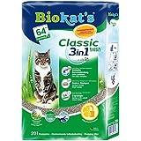 Biokat's Classic Fresh 3in1 Frühlingsduft Katzenstreu / Hochwertige Klumpstreu für Katzen mit 3 unterschiedlichen Korngrößen / 1 Plastikbeutel (1 x 20 L)