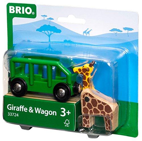 brio world 33724 giraffenwagen. Black Bedroom Furniture Sets. Home Design Ideas
