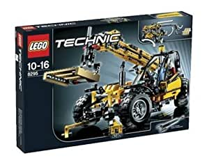 lego technic 8295 telescopic handler toys games. Black Bedroom Furniture Sets. Home Design Ideas