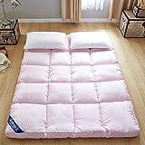 ASDFGH Estereoscópico Plegable Colchón Tatami, Colchón de Pluma de Terciopelo Ultra Soft Primeros del colchón