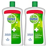 #9: Dettol Original Liquid Soap Jar - 900 ml (Pack of 2)