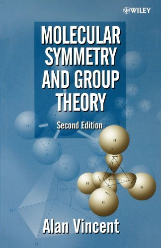 Molecular Symmetry and Group Theory : A Programmed Introduction to Chemical Applications, 2nd Edition by Alan Vincent (2001-01-31)