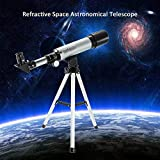 HITSAN INCORPORATION Outdoor Refractive 360X50mm Astronomical Telescope with Portable Tripod HD Monocular Spotting Scope Telescopio Gift