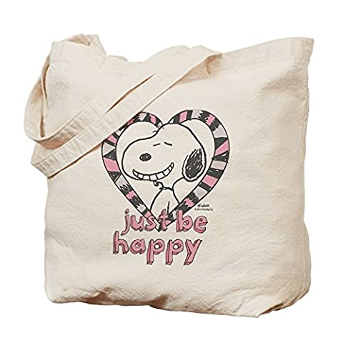 CafePress Tasche – Snoopy Just Be Happy Tasche
