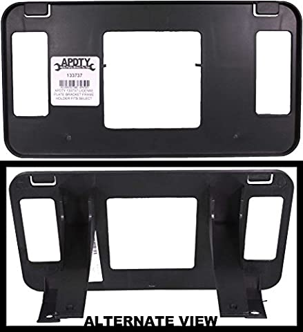 APDTY 133737 License Plate Bracket Frame Holder Fits 1999-2002 Ford Expeidtion 99-04 Ford F150 F250 F350 (2-Wheel Drive; View Description For Specific Models; Replaces XL3Z17A385AA, XL3Z-17A385-AA) by APDTY