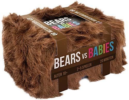 Asmodee ASMD0015 Bears vs. Babies, bunt