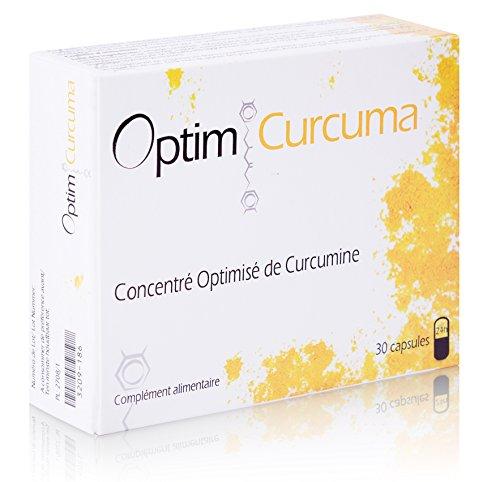 Optim Curcuma - Curcumine Optimisée Longvida – 30 capsules/boite