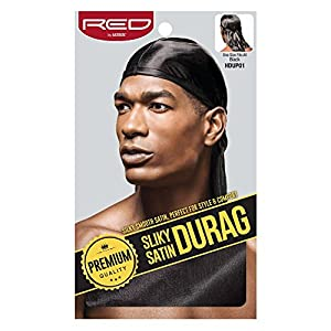 Red By Kiss Silky Satin Durag Extra long tail