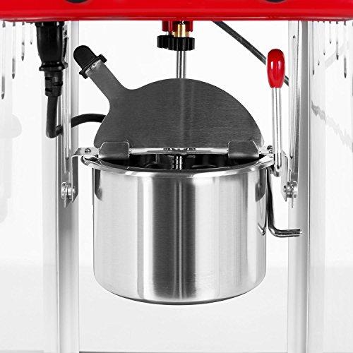 Klarstein Volcano Popcornmaschine Retro-Design mit Innenbeleuchtung - 5