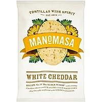 160g Manomasa cheddar blanco Tortilla Chips