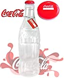 FLAVES FASHION (FF11) Grande Elegante Scatola Monete Notes Latta Bottiglie salvadanai in salvadanaio 60cm/0,6m, [Original Coca Cola 60cm 2ft]