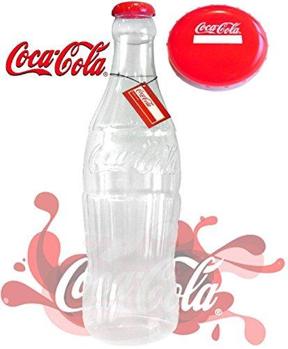 FF11- Elegante botella hucha plástico monedas billetes