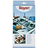 Rayen 6321 Protection Gazinière Aluminium Argent 26 x 26 x 1 cm