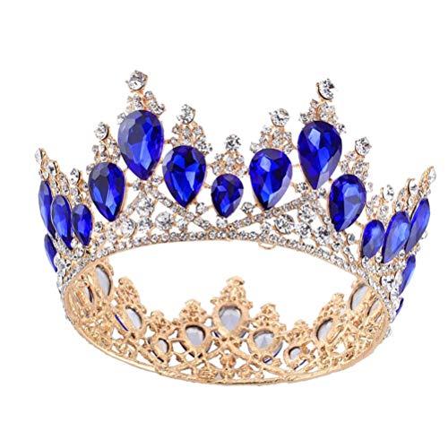 gin Krone, Braut Hochzeit Prinzessin Pageant Prom Krone Stirnband ()