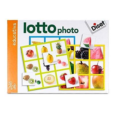 Diset - 63687 - Jeu de société - Jeu éducatif - Loto Photo Fruits