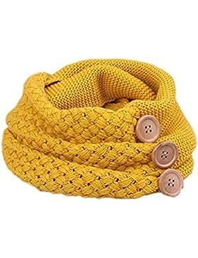 Bufanda Mujer, Youson Girl® Círculo Bufandas Mujeres invierno cálido dos botones de cable del círculo Knit Cowl...
