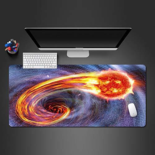 Coole Überragende Space Fireball Mauspad Hd Print Gummi Waschbar Pad Office Spiel Computer Tastatur Mauspad ()