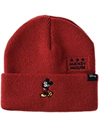 31ca9164e87ef WITHMOONS Disney Mickey Mouse Ribbed Beanie Hat Slouchy CR5549