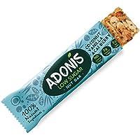 Adonis Low Sugar Nut Bar - Barritas de Coco Crujiente Sabor a Vainillia | 100% Natural, Baja en Carbohidratos, Sin Gluten, Vegano, Paleo (5)