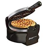 Cooks Professional - Electric Belgian Waffle Maker Machine 180° Rotating - 920 Watts. (Grey/ Black)
