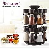 #1: Floraware 16-Jar Revolving Spice Rack