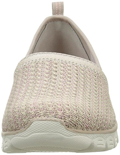 Skechers Ez Flex 3.0 Big Money, Baskets Basses Femme Taupe