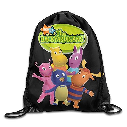 tgkze Drawstring Bag The Backyardigans