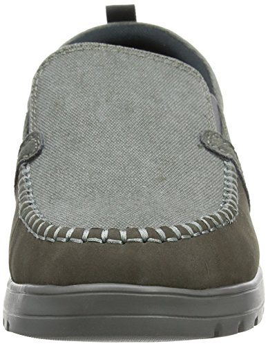 Padders Herren Repeat Slipper Grey (Grey Combi)