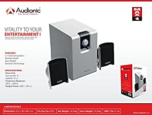 Audionic Max 4 Sub Woofer 2.1 Channel Speakers