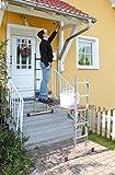 Leitergerüst 2x6 Sprossen AH 3m auch als Steh- u. Anlegeleiter nutzbar Corda Krause 080011