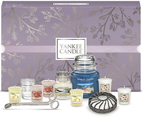 YANKEE CANDLE Geschenkset mit Kerzen und Zubehör, Set of 11