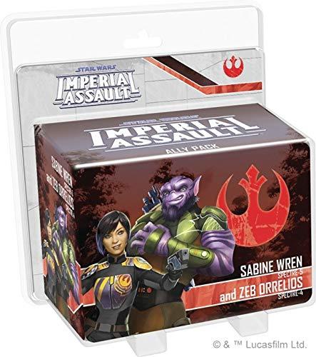 Fantasy Flight Games FFGSWI56 Sabine Wren und Zeb Orrelios Ally Pack: Star Wars Imperial Assault, Mehrfarbig