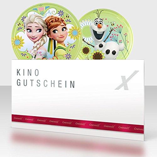 Unbekannt CinemaxX Die Eiskönigin Filmdose Grün Single mit 1 Kinogutschein