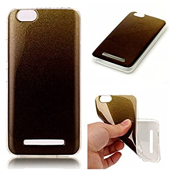 BONROY® Lenovo Vibe C / A2020 Coque Housse Etui,Fashion Belle Bling Bling Ultra-Mince Thin Soft Silicone Etui de Protection pour Souple Gel TPU Bumper Poussiere Resistance Anti-Scratch Case Cover Couverture Pour Lenovo Vibe C / A2020