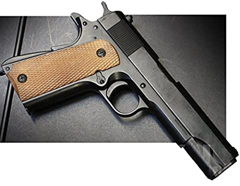 Double Eagle M21 Airsoft Spring/Federdruck Pistole in Schwarz, unter 0.5 Joules, GRATIS 2000 BULLDOG BBS 0.20G