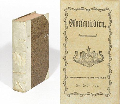 Antiquitäten. (2. Auflage). 2 in einem Band.