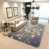 SESO UK Europäische moderne große Teppich für Wohnzimmer Schlafzimmer rechteckig weich Anti-Rutsch-Teppich waschbar, Dicke: 0,6 cm (größe : 100×150cm)