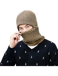 Winddicht Gesichtsmaske Sturmhaube Maske mit Flecefutter Winter Hüte Kappe Mütze Warme Strick Balaclava Beanie Hut für Outdoor Sport Radfahren