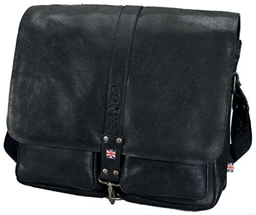 Preisvergleich Produktbild Pride and Soul 47143 Shoulder Bag GREYSON Aktentasche, Schwarz