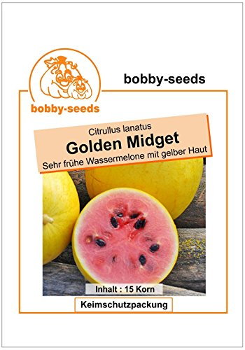 Bobby-Seeds Melonensamen Golden Midget Wassermelone Portion