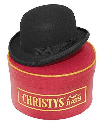 Christys Noir Mode Melon Avec Chapeau Coffret