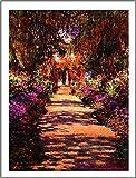 1art1® Claude Monet - Il Viale del Giardino Póster Impresión Artística (50 x 40cm)