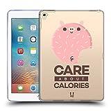 Head Case Designs About Calories Kawaiitiere Donuts Soft Gel Hülle für iPad Pro 9.7 (2016)