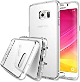 Galaxy S6 Edge Plus Case, Ringke FUSION ** Shock Absorption Technology**[Crystal View] Crystal Clear PC Back Drop Protection TPU Bumper Case [Anti-Static][Scratch Resistant] for Samsung Galaxy S6 Edge+ / Plus